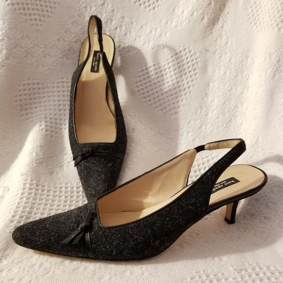 2e4543a72e2 kate spade Shoes - Kate Spade slingback pumps 9.5 B kitten heel Italy